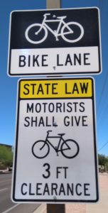 Bike Lane Signs - Gilbert